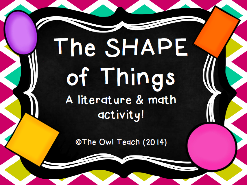 The Shape of Things Activity