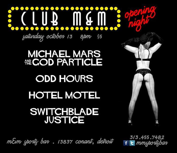 Motorcityblog grand opening m m lounge detroit for Motor city casino hours