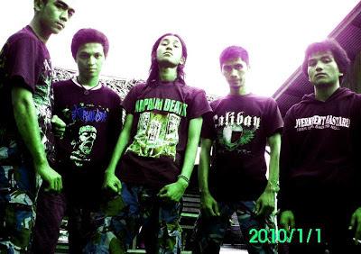 Kerangka Band Death Grind Death Metal Padang Sumatera Barat Indonesia Foto Personil Wallpaper