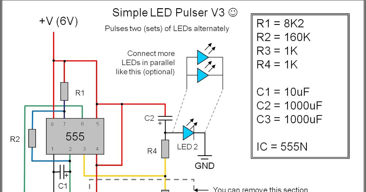 The Ad Lab: Multiple LED pulsing via a 555 timer