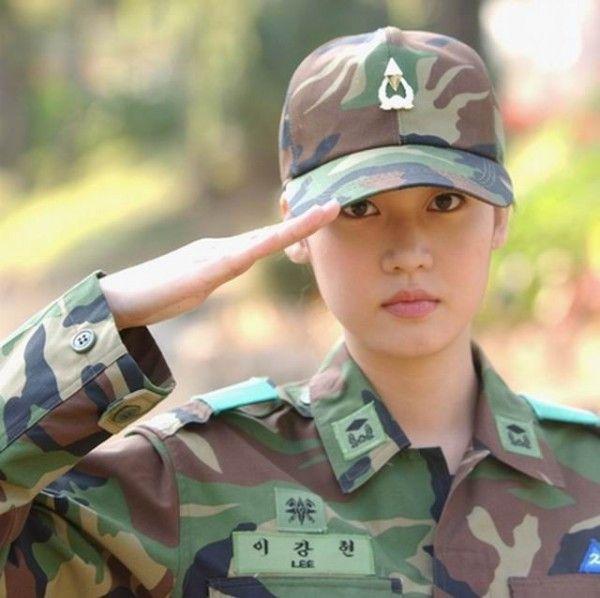 gadis militer