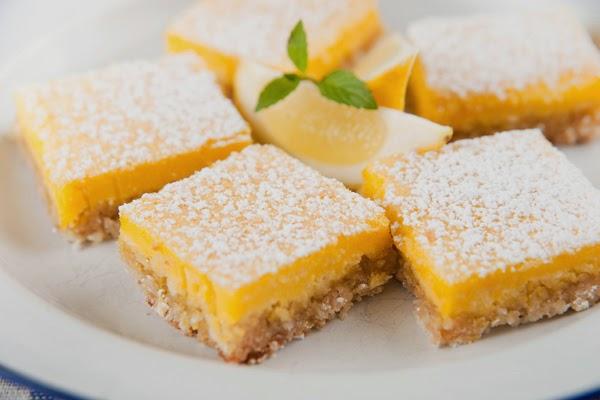طريقة عمل حلوى الليمون