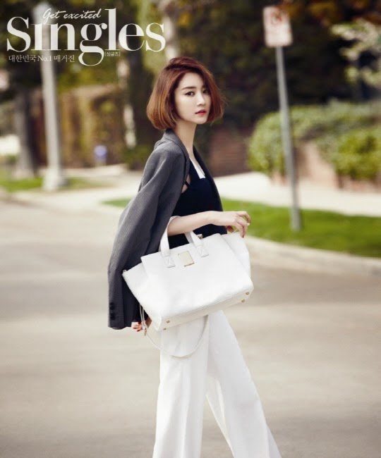 Go Joon Hee - Singles Magazine April Issue 2014