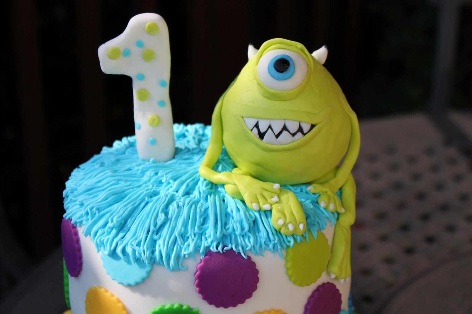 In Fine Fettle Monsters Inc Cake