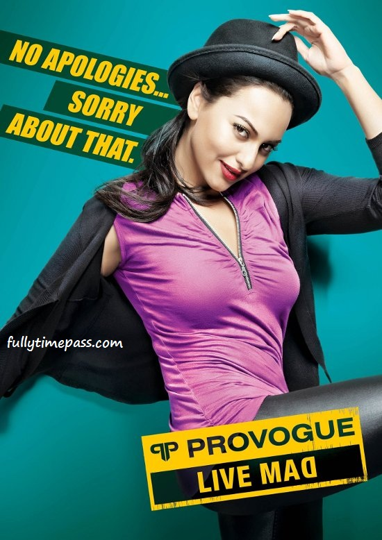 Sonakshi Sinha Provogue Ad Photoshoot Pics