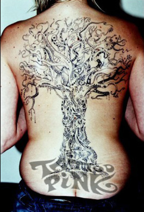 Tree Tattoos Designs For Girls