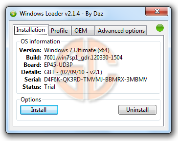 Windows Loader v2.1.4