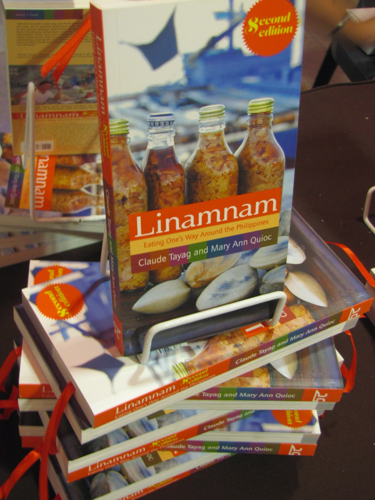 FTW! Blog, Linamnam Second Edition, Book Launch