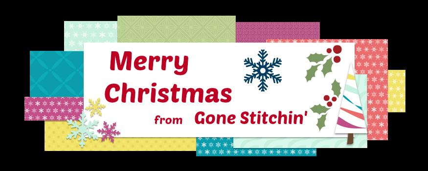 Gone Stitchin'...