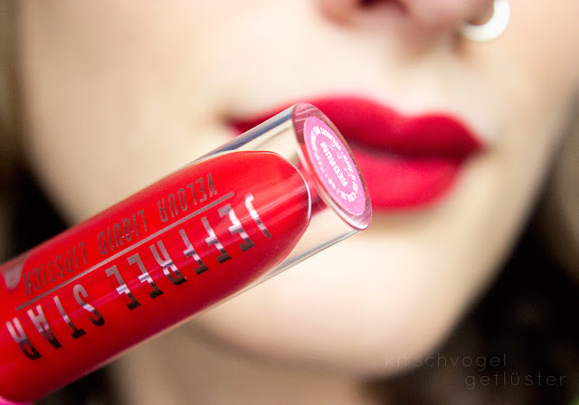 Jeffree Star Redrum Velour lipstick