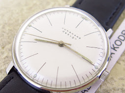 JUNGHANS MAX BILL - WHITE CLASSIC DIAL - MANUAL WINDING CAL j805.1 - MADE IN GERMANY