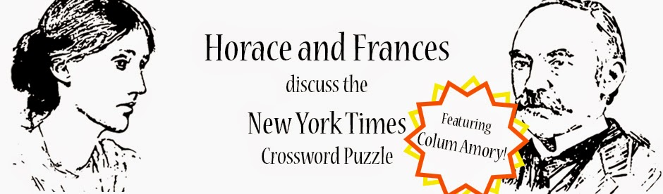 Horace and Frances discuss the New York Times Crossword Puzzle
