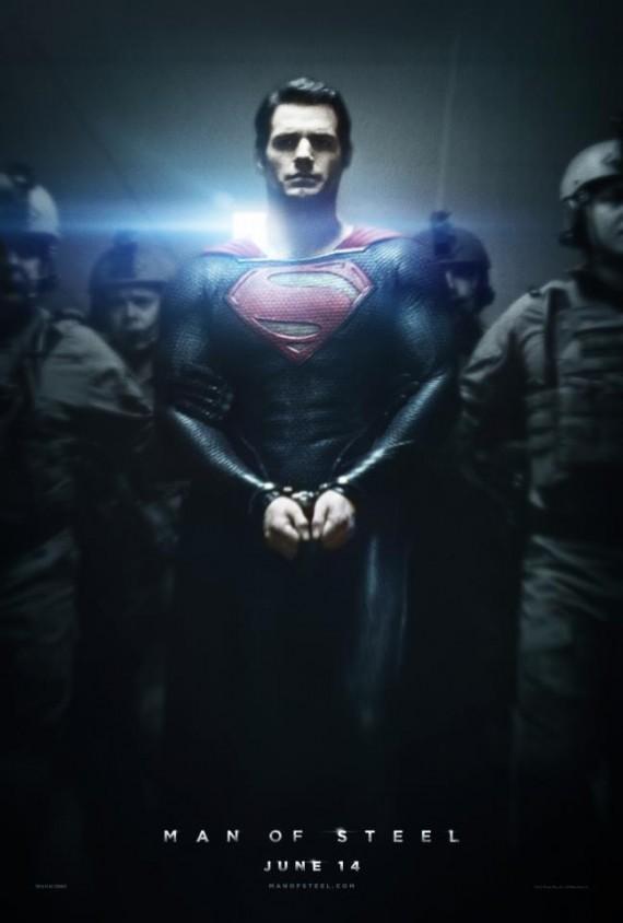 Full HD Superman Man Of Steel Poster