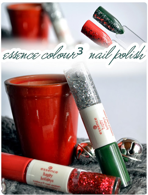 Review essence Happy Holidays LE - Colour³ Nailpolish RUN, RUN RUDOLPH & LIGHT UP THE TREE