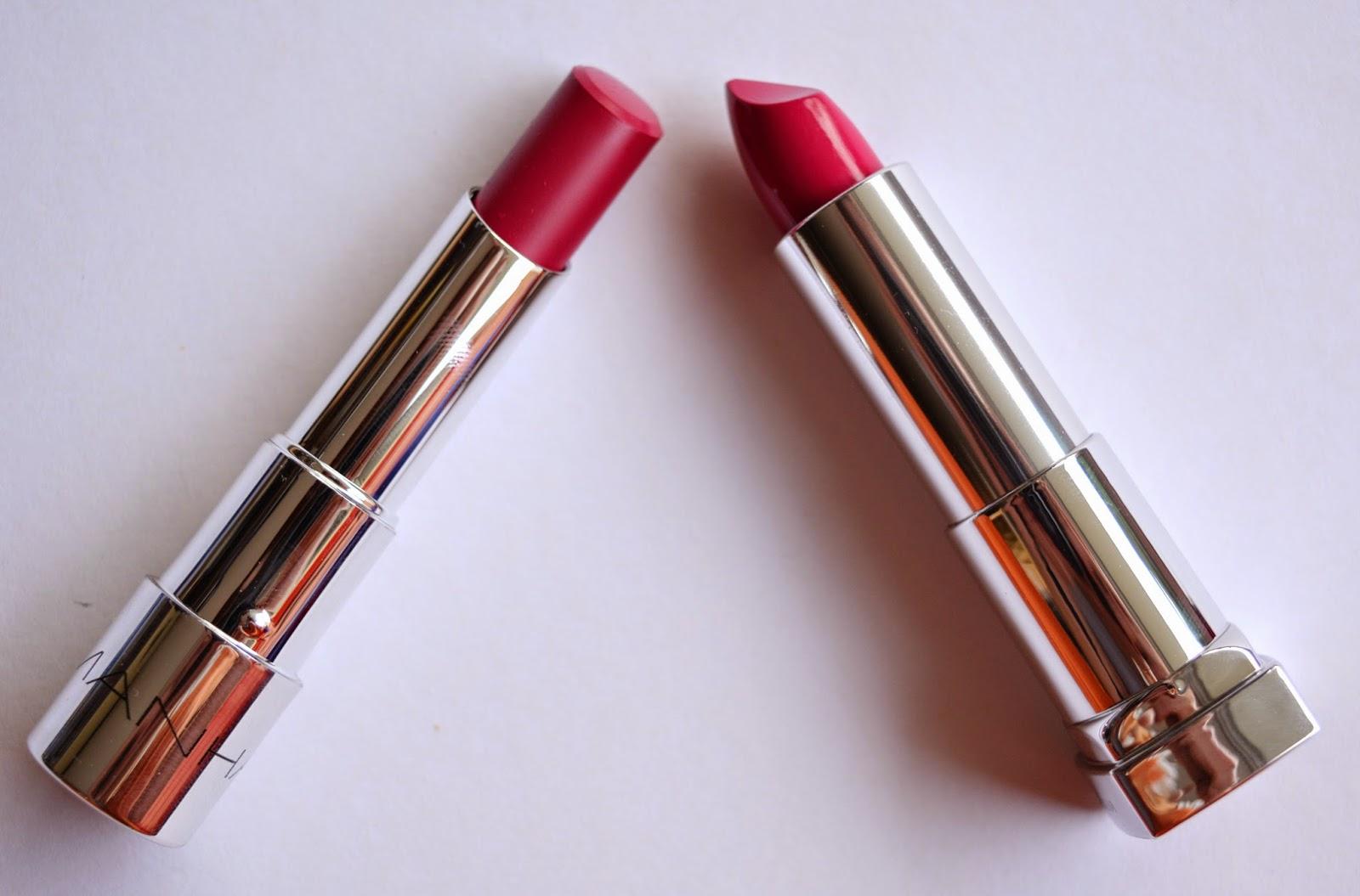 [Mädchenkram] Pink gegen Pink - Manhattan versus Maybelline