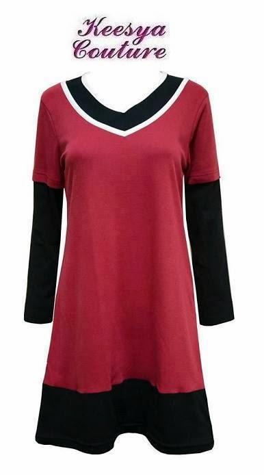 T-shirt-Muslimah-Keesya-KA136B