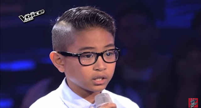 Altair Aguelo turns 3 chairs on 'The Voice Kids' Philippines