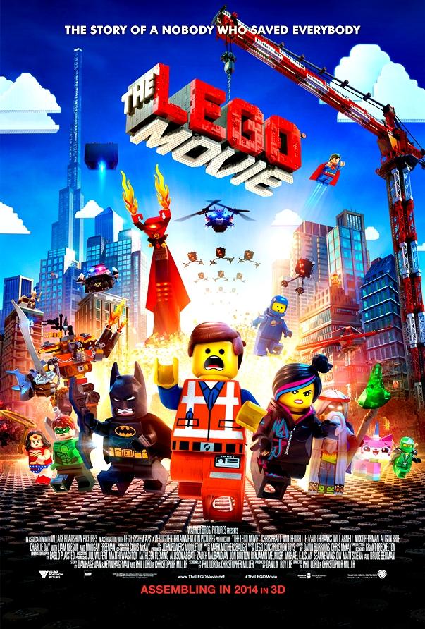 La Lego película póster