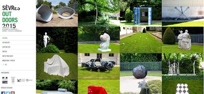 Sèvres Outdoor 2015 - exposition de Céramique en plein air à la Cité de la Céramique