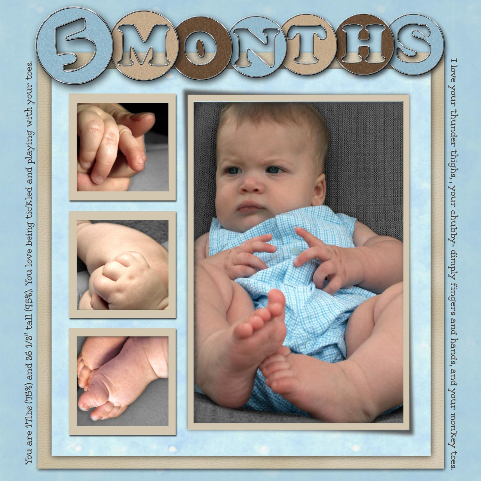 Scrapbooking Ideas for Babies