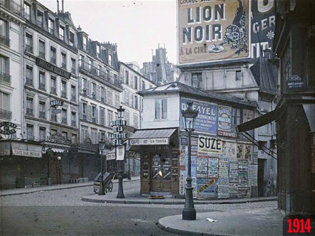 Rue Puget – Rue Lepic in 1914