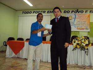 Homenagem do Conselho Tutelar ao promotor Rafael