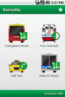 Cari Tahu Transportasi Daerah Jakarta Dengan Aplikasi Komutta di Android
