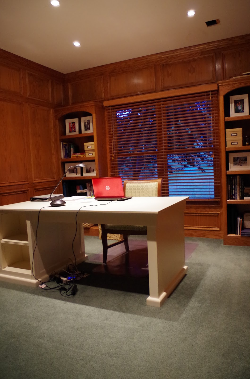 life as a losey we snagged this huge tuscan desk from the ballard designs outlet for a steal it is a partner s desk so if needed we could have chairs on both sides