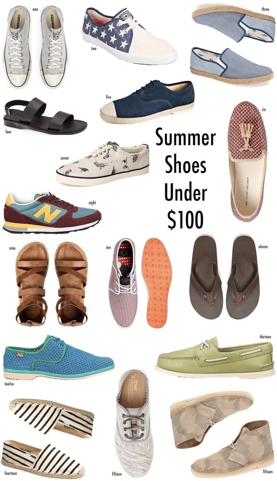 Summer Shoes under $100