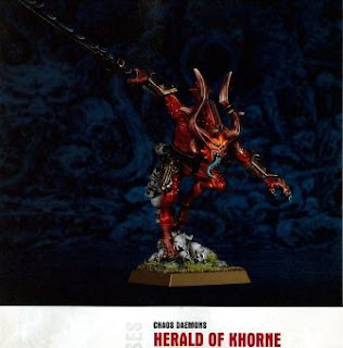 Chaos Daemons Herald of Khorne
