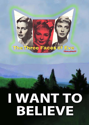 three faces of eve as flying saucer UFO