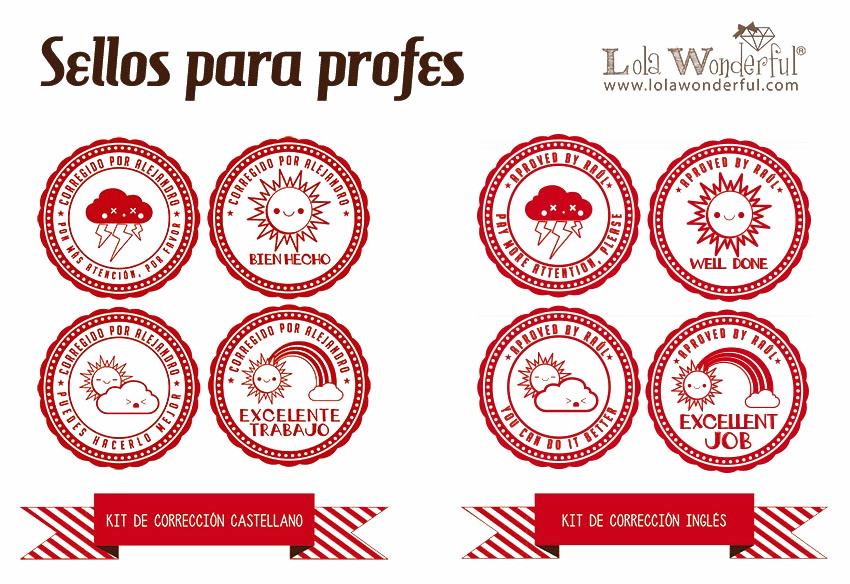 ideales para profes de esta asignatura, o para coles bilingües