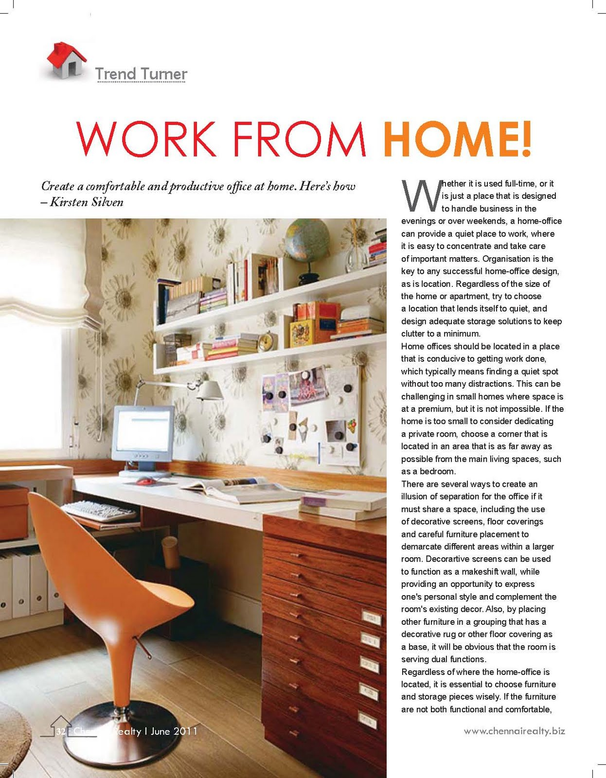 Outstanding Office For Home And Business 2011 Frieze - Home ...