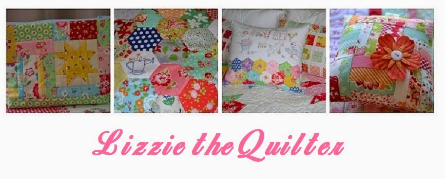 Lizzie the quilter