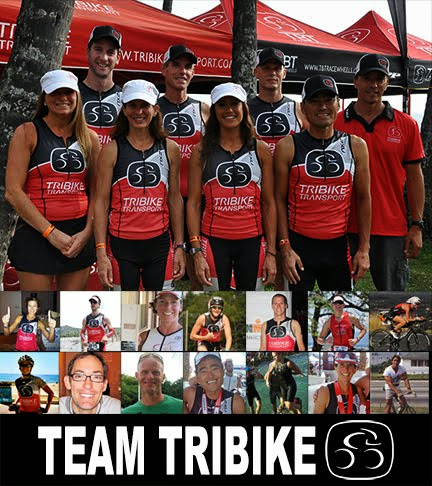 Proud Member of the TRIBIKE TRANSPORT 2013 Racing Team