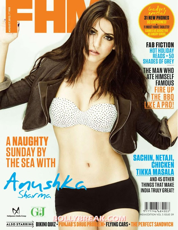 Anushka Sharma FHM HD Scan - Anushka Sharma FHM Scans in HD
