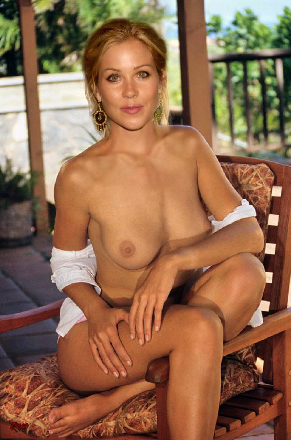 Naked pics of christina applegate sounds tempting