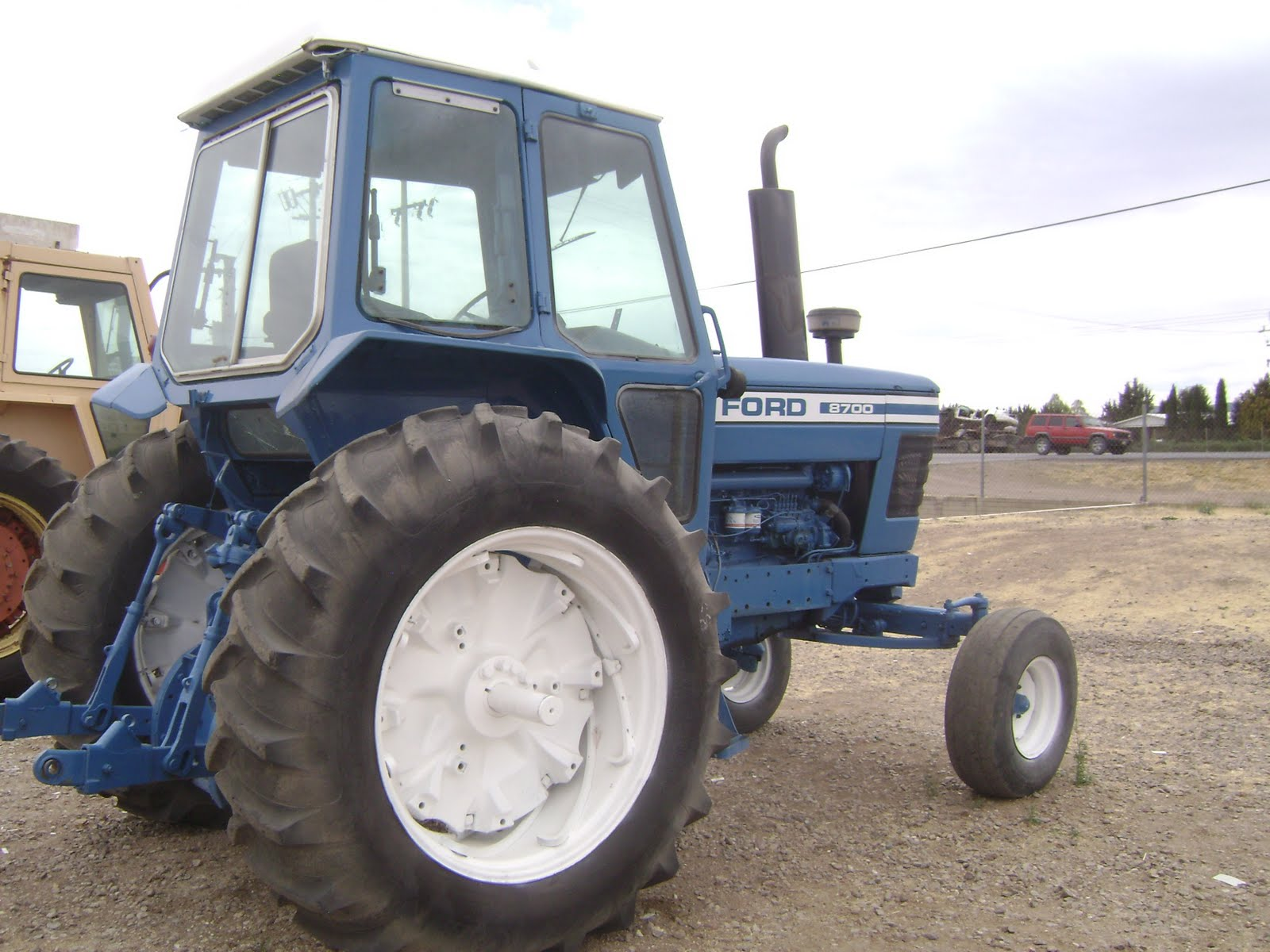 Ford 8700 Tractor : Maquinaria agricola industrial tractor ford