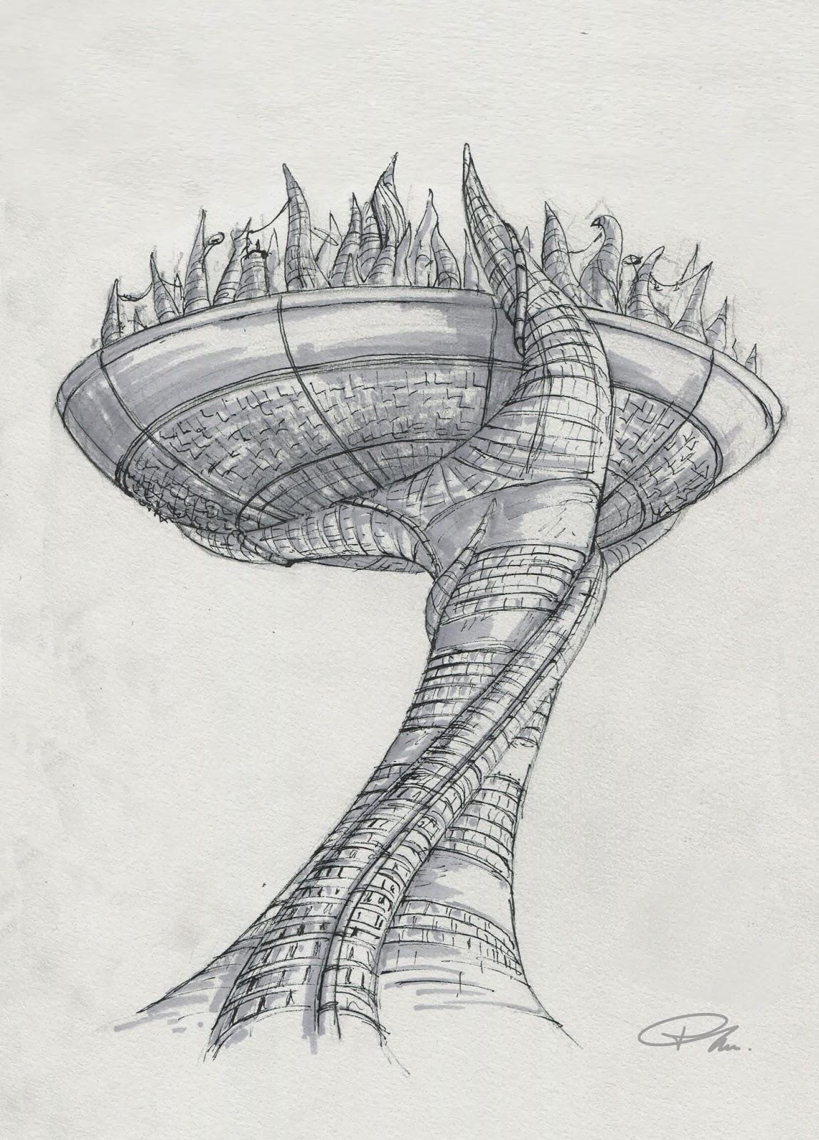 ville futuriste pierre labarre
