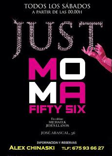 MOMA Fifty Six Sábado 2 de noviembre
