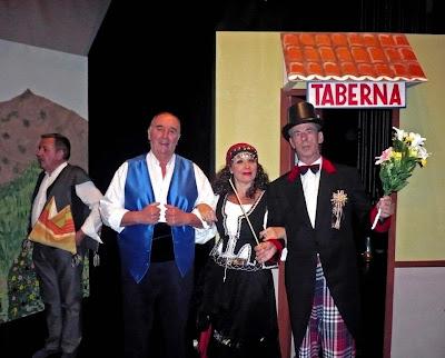 imagen de una representación de Agrupación Bejarana de Zarzuela