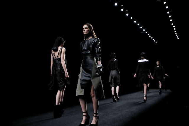EdelScope: Metropolis Blend by Yiorgos Eleftheriades AW 2011/2012 :  fashion catwalk