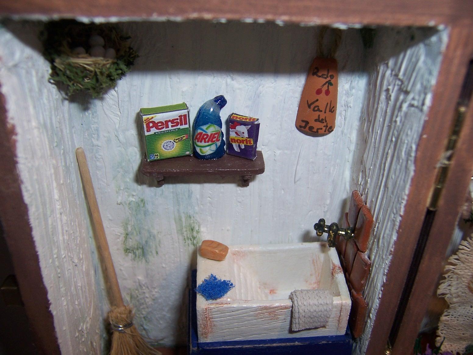 Como hacer un lavadero en el patio for Lavadero pequenos