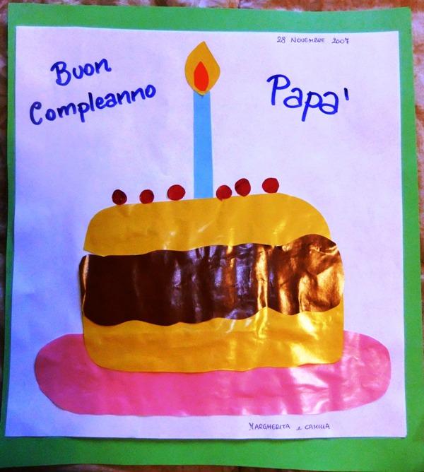 Favoloso Studiamando liberamente: Lavoretti per il papà: la torta-collage OX77