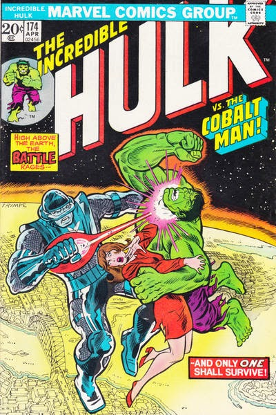 Incredible Hulk #174, the Cobalt Man