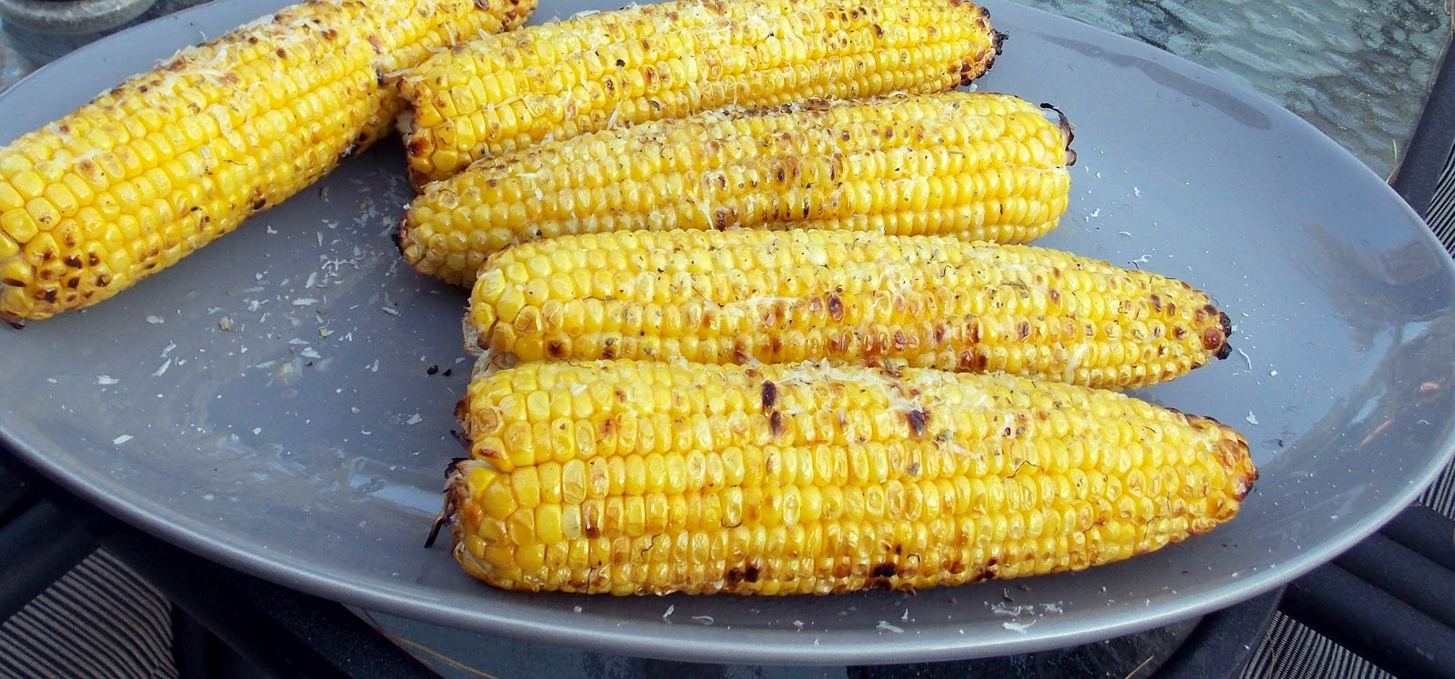 Parmesan Garlic Grilled Corn Recipe — Dishmaps