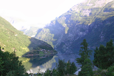The Geiranger Fjord, Norway
