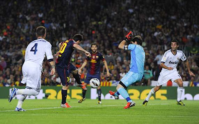Hasil dan Cuplikan Video Gol Barcelona vs Real Madrid 2-2