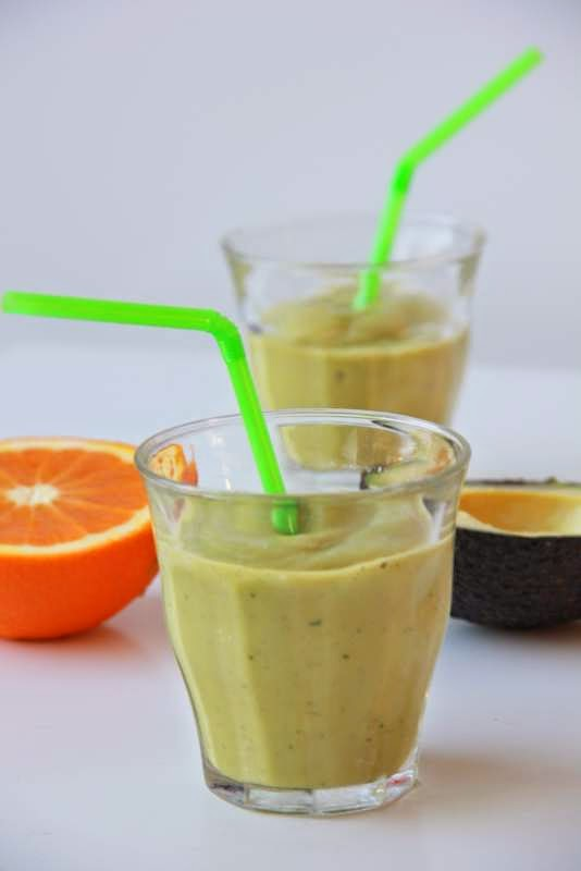 smoothie met avocado & mint - www.desmaakvancecile.com