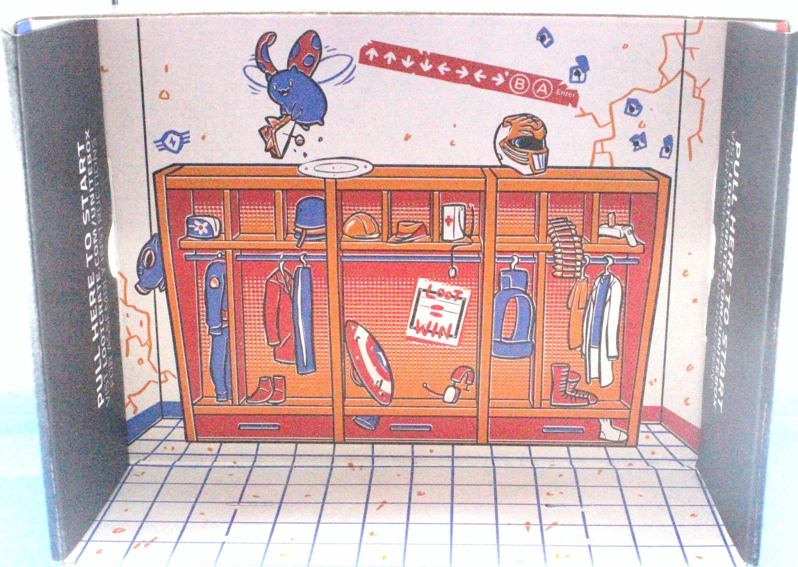 Loot Crate Locker Room Box